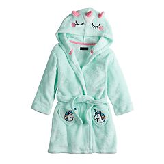 Toddler Girl Cuddl Duds Unicorn Hooded Robe