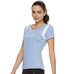 Women's FILA SPORT® Lattice Short Sleeve Tee