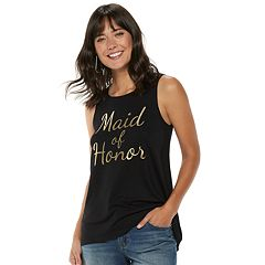 Women's Apt. 9® Bridal Graphic Tank
