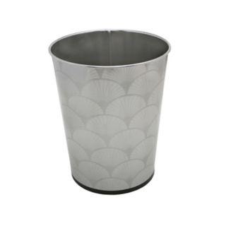 Bath Bliss 5-liter Scallop Design Trash Can