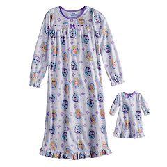 Disney's Frozen Elsa & Olaf Girls 4-8 Nightgown & Doll Nightgown