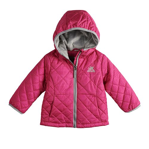 Toddler Girl ZeroXposur Midweight Hooded Quilted Jacket
