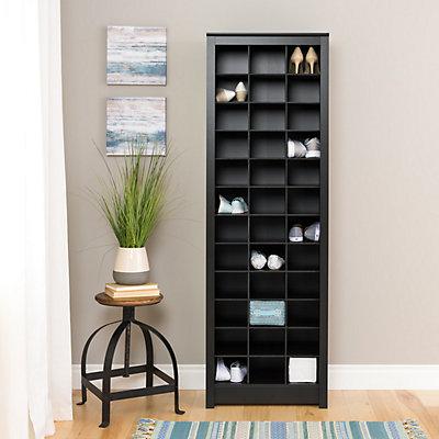 Prepac Space-Saving Shoe Storage Cabinet