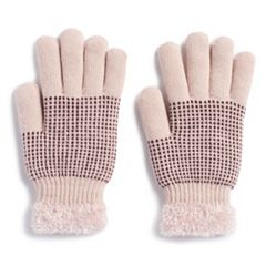 Women's SONOMA Goods for Life™ Dotted Cozy Gloves