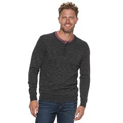 Men's SONOMA Goods for Life™ Modern-Fit Supersoft Thermal Henley