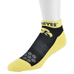 Men's Mojo Iowa Hawkeyes Excalibur Low-Cut Socks
