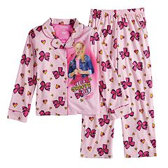 Girls 6-12 JoJo Siwa Bow Top & Bottom Pajama Set