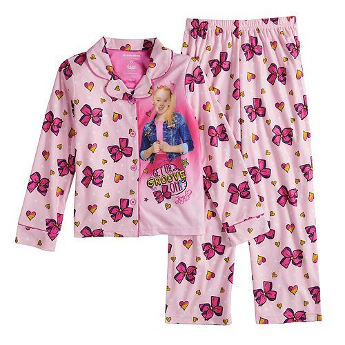 Girls 6-12 JoJo Siwa Bow Top & Bottom Pajama Set