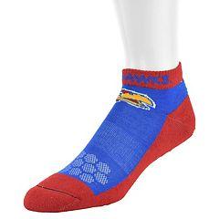 Women's Mojo Kansas Jayhawks Excalibur Low-Cut Socks