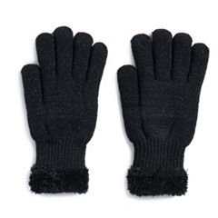 Women's SONOMA Goods for Life™ Lurex Cozy Gloves