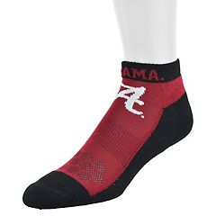 Men's Mojo Alabama Crimson Tide Excalibur Low-Cut Socks