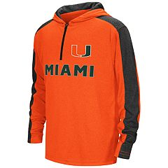 Boys 8-20 Miami Hurricanes Hot Shot Hooded Pullover