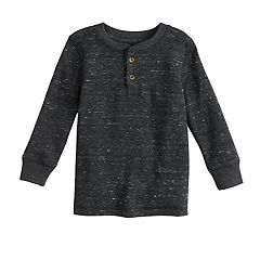 Baby Boy Jumping Beans® Textured Thermal Henley Top