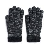 Women's SONOMA Goods for Life? Marled Diamond-Knit Cozy Gloves