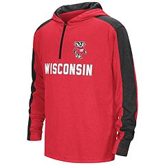 Boys 8-20 Wisconsin Badgers Hot Shot Hooded Pullover