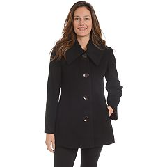 Women's Fleet Street Single-Breasted Wool Blend Coat