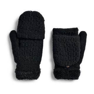 Women's SONOMA Goods for Life? Cable-Knit Flip-Top Mittens