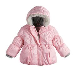 Toddler Girl ZeroXposur Heavyweight Hooded Bow Puffer Jacket