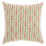 Mina Victory Trendy, Hip, & New Age Embroidered Arrow Tails Throw Pillow