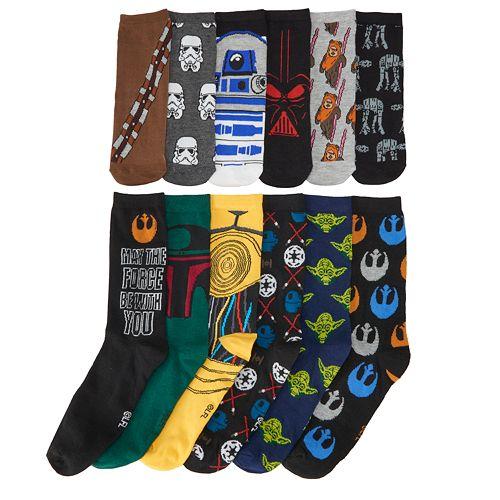 f7d1ed1ed9 Men s Star Wars 12 Days Of Socks