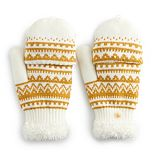 Women's SONOMA Goods for Life? Fairisle Knit Flip-Top Mittens
