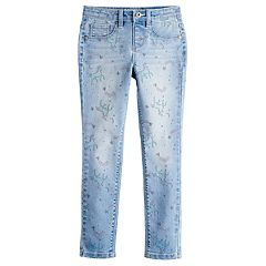 Girls 4-12 SONOMA Goods for Life® Unicorn Print Jeggings