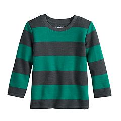 Toddler Boy Jumping Beans® Striped Flat Back Ribbed Top