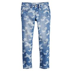 Girls 4-10 SONOMA Goods for Life® Butterfly Print Jeggings