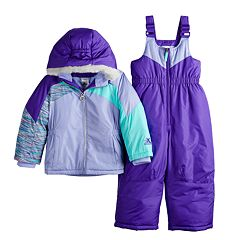 Toddler Girl ZeroXposur Kasha Jacket & Bib Snowpants Set