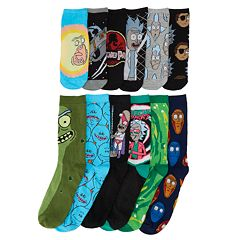 Men's Rick & Morty 12 Days of Socks