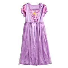 Disney's Tangled Rapunzel Girls 4-8 Fantasy Nightgown