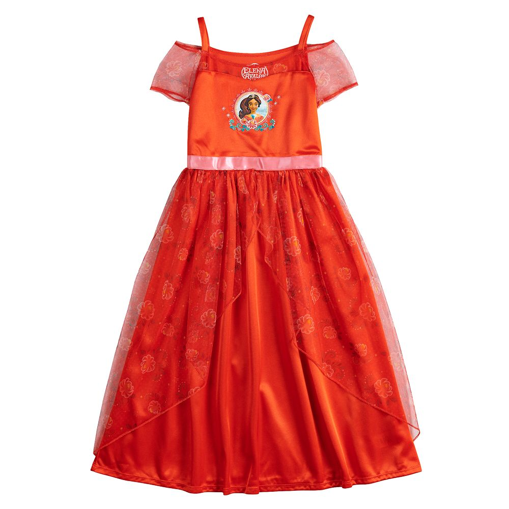 Disney's Elena of Avalor Girls 4-8 Fantasy Gown Nightgown