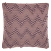 Mina Victory Life Styles Large Chevron Throw Pillow