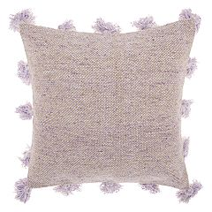 Mina Victory Life Styles Tassel Border Throw Pillow