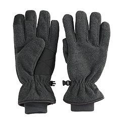 Men's Tek Gear® Microfleece Tech Touch Cuffed Gloves