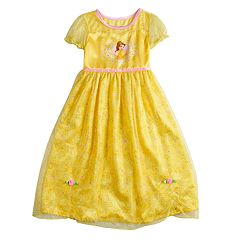 Disney's Belle Girls 4-8 Fantasy Gown Nightgown