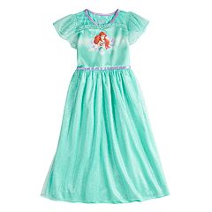 Disney's Ariel Girls 4-8 Fantasy Gown Nightgown
