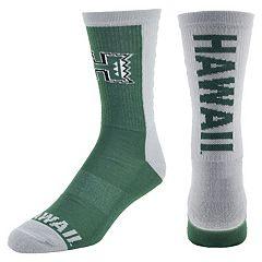Men's Mojo Hawaii Warriors Loud & Proud Crew Socks