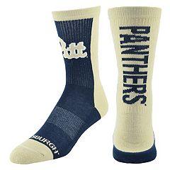 Men's Mojo Pitt Panthers Loud & Proud Crew Socks