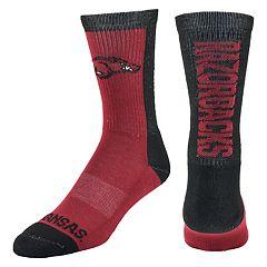 Men's Mojo Arkansas Razorbacks Loud & Proud Crew Socks