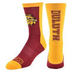Men's Mojo Minnesota - Duluth Bulldogs Loud & Proud Crew Socks
