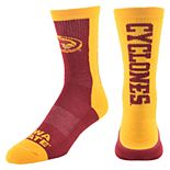 Men's Mojo Iowa State Cyclones Loud & Proud Crew Socks