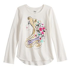 Disney's Rapunzel Girls 4-12 Foiled Graphic Long-Sleeve Tee by Jumping Beans®