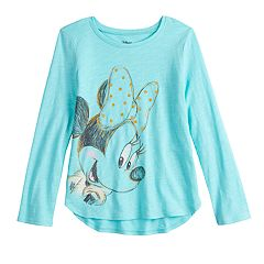 Disney's Minnie Mouse Girls 4-12 Long-Sleeve Graphic Tee by Jumping Beans®