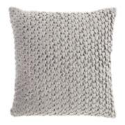 Mina Victory Life Styles Pleated Velvet Throw Pillow