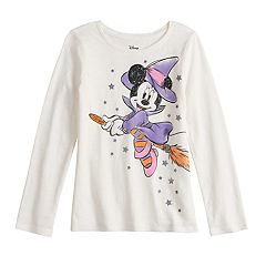 Disney's Minnie Mouse Girls 4-12 Witch Graphic Tee by Jumping Beans®
