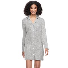Women's SONOMA Goods for Life™ Notch Collar Sleepshirt