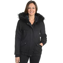 Women's Fleet Street Hooded Wool Blend Jacket
