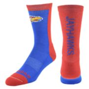 Women's Mojo Kansas Jayhawks Loud & Proud Crew Socks