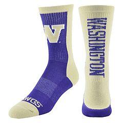 Women's Mojo Washington Huskies Loud & Proud Crew Socks